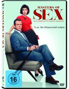 Masters of Sex Season 1, 4 DVDs