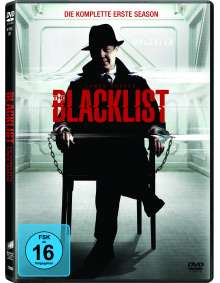 The Blacklist Season 1, 6 DVDs