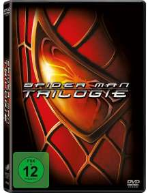 Spider-Man Trilogie, 3 DVDs
