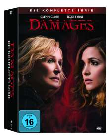 Damages (Komplette Serie), 15 DVDs