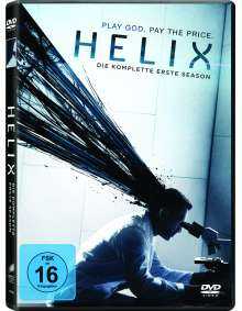 Helix Season 1, 3 DVDs