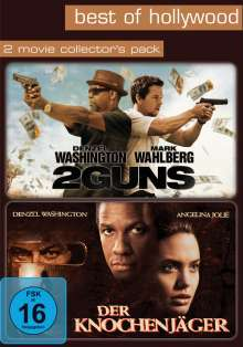 2 Guns / Der Knochenjäger, 2 DVDs