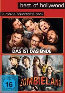 Zombieland / Das ist das Ende, 2 DVDs