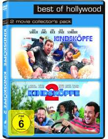 Kindsköpfe 1 & 2, 2 DVDs