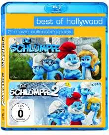 Die Schlümpfe 1 & 2 (Blu-ray), 2 Blu-ray Discs