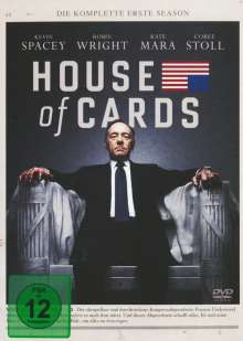 House Of Cards Season 1, 4 DVDs