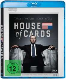 House of Cards Season 1 (Blu-ray), 4 Blu-ray Discs