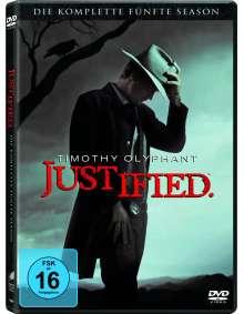 Justified Season 5, 3 DVDs