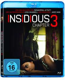 Insidious: Chapter 3 (Blu-ray), Blu-ray Disc
