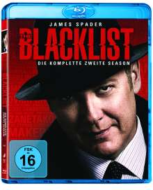 The Blacklist Season 2 (Blu-ray), 6 Blu-ray Discs
