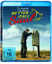 Better Call Saul Staffel 1 (Blu-ray), 3 Blu-ray Discs