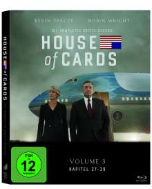 House Of Cards Season 3 (Blu-ray), 4 Blu-ray Discs