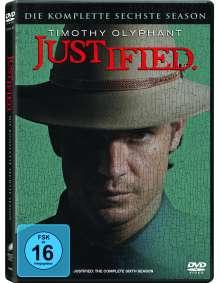 Justified Season 6 (finale Staffel), 3 DVDs