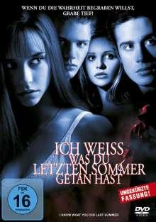 Ich weiß, was du letzten Sommer getan hast, DVD