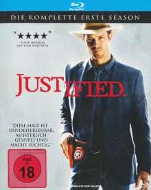 Justified Season 1 (Blu-ray), 3 Blu-ray Discs