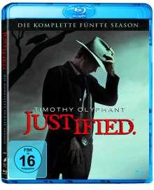 Justified Season 5 (Blu-ray), 3 Blu-ray Discs