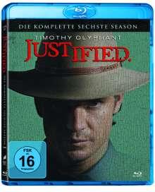 Justified Season 6 (finale Staffel) (Blu-ray), 3 Blu-ray Discs