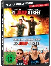 21 Jump Street / 22 Jump Street, 2 DVDs