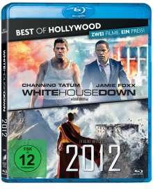 White House Down / 2012 (Blu-ray), 2 Blu-ray Discs