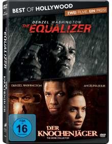 The Equalizer / Der Knochenjäger, 2 DVDs