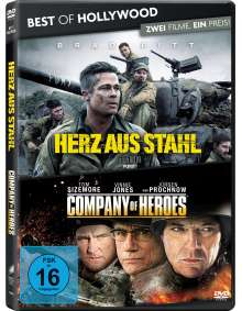 Herz aus Stahl / Company of Heroes, 2 DVDs