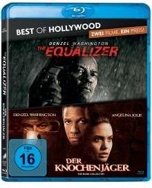 The Equalizer / Der Knochenjäger (Blu-ray), 2 Blu-ray Discs