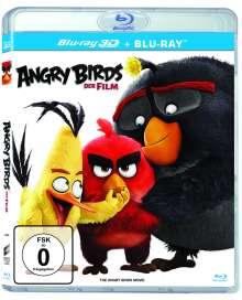 Angry Birds - Der Film (3D & 2D Blu-ray), 2 Blu-ray Discs