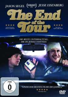 The End of the Tour, DVD