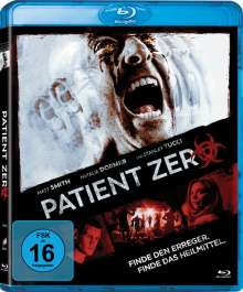 Patient Zero (Blu-ray), Blu-ray Disc