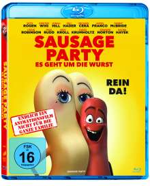 Sausage Party (Blu-ray), Blu-ray Disc