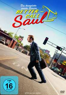 Better Call Saul Staffel 2, 3 DVDs