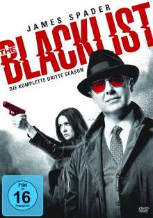 The Blacklist Season 3, 6 DVDs