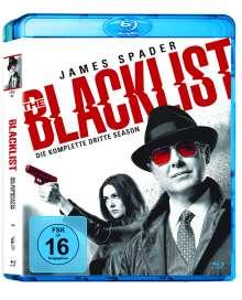 The Blacklist Season 3 (Blu-ray), 6 Blu-ray Discs