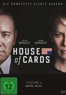 House Of Cards Season 4, 4 DVDs