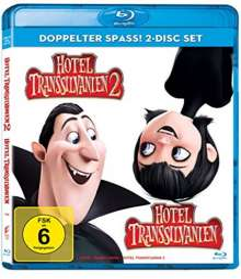 Hotel Transsilvanien 1 & 2 (Blu-ray), 2 Blu-ray Discs