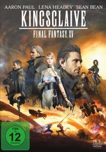 Kingsglaive: Final Fantasy XV, DVD