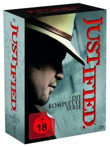 Justified (Komplette Serie) (Blu-ray), 18 Blu-ray Discs