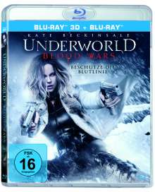 Underworld: Blood Wars (3D & 2D Blu-ray), 2 Blu-ray Discs