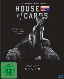 House Of Cards Season 2 (Blu-ray), 4 Blu-ray Discs