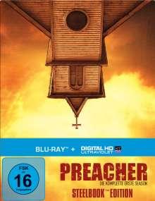 Preacher Season 1 (Blu-ray im Steelbook), 4 Blu-ray Discs