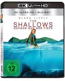 The Shallows (Ultra HD Blu-ray & Blu-ray), 1 Ultra HD Blu-ray und 1 Blu-ray Disc