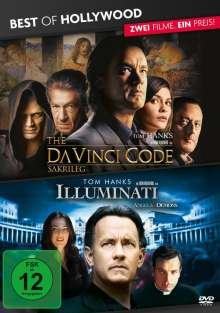 Illuminati / The Da Vinci Code - Sakrileg, 2 DVDs