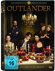 Outlander Staffel 2, 6 DVDs