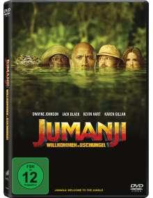 Jumanji: Willkommen im Dschungel, DVD