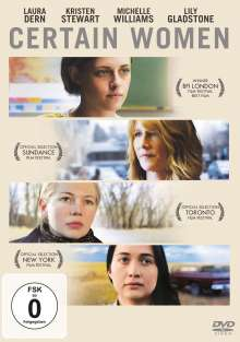 Certain Women, DVD