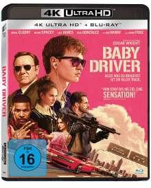 Baby Driver (Ultra HD Blu-ray & Blu-ray)