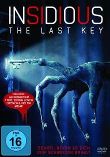 Insidious: The Last Key, DVD