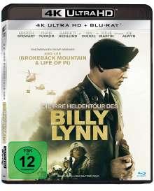 Die irre Heldentour des Billy Lynn (Ultra HD Blu-ray & Blu-ray), 1 Ultra HD Blu-ray und 1 Blu-ray Disc