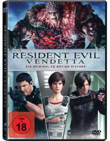 Resident Evil: Vendetta, DVD
