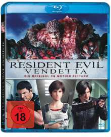Resident Evil: Vendetta (Blu-ray), Blu-ray Disc